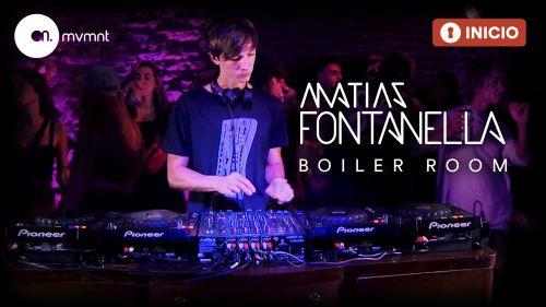 Matias Fontanella Dj Set – Boiler Room