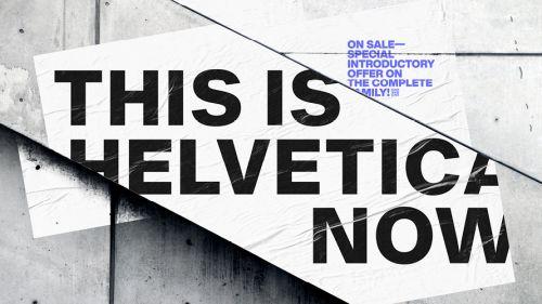 Alternativas para no usar siempre Helvetica de tipografia